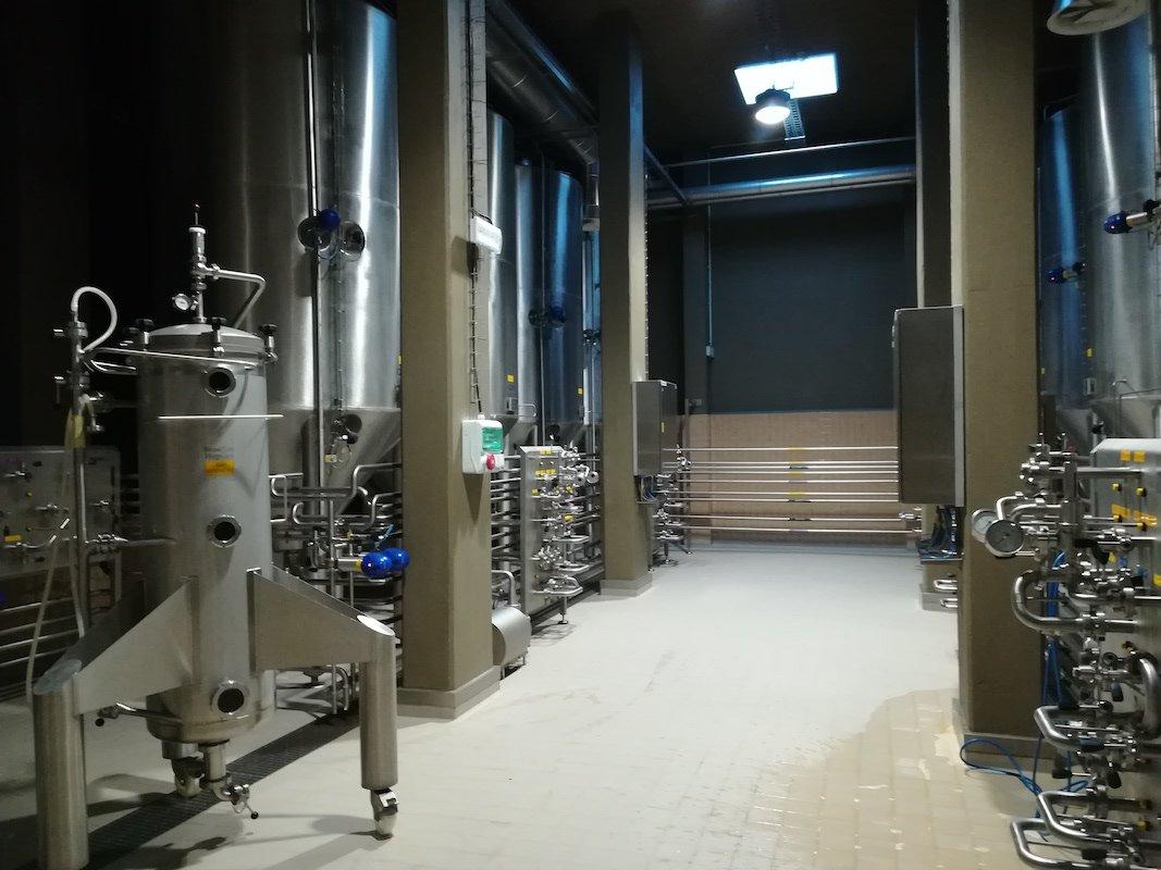 Ampliação de instalação de fabrico de cerveja artesanal